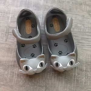 Mini Melissa Toddler 6 Silver Cats - NEW